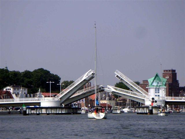 Kappeln an der Schlei - Klappbrücke