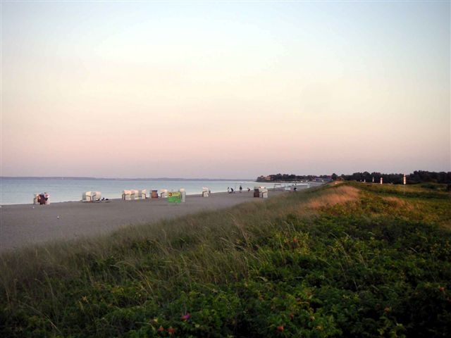 Ostseestrand im Sommer